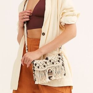 Free People By The Sea Crossbody Bag